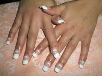 Manikúra, gelové nechty, maľovanie nechtov, francúzka manikúra